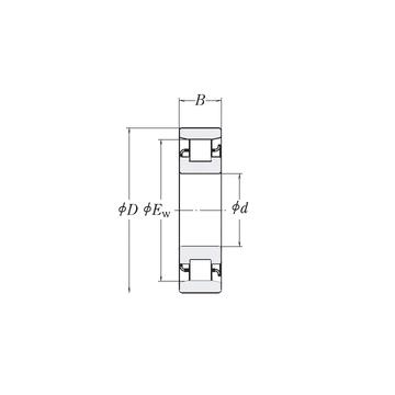 XLRJ1.5/8 RHP Cylindrical Roller Bearings