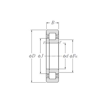 NUP311E NTN Cylindrical Roller Bearings