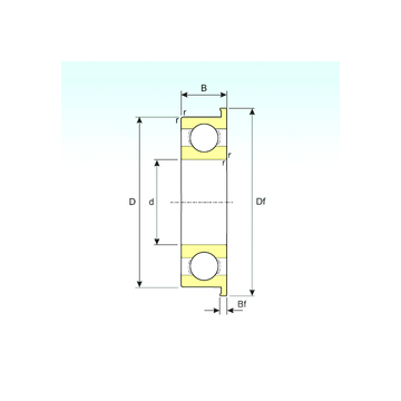 F607 ISB Deep Groove Ball Bearings