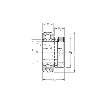 RAL014NPPB Timken Deep Groove Ball Bearings