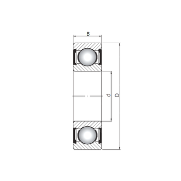 16002 ZZ ISO Deep Groove Ball Bearings