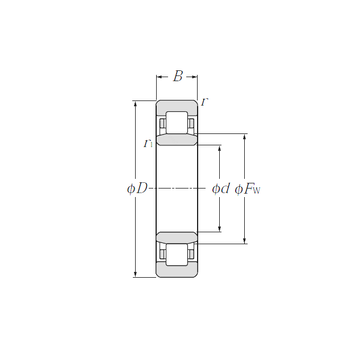 NU1015 NTN Cylindrical Roller Bearings #1 small image