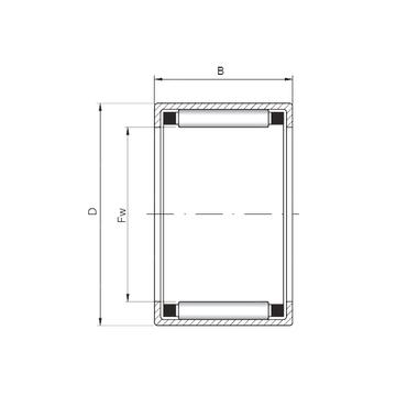 HK5524 ISO Cylindrical Roller Bearings #1 image