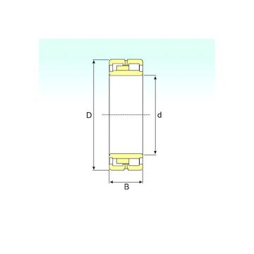 NNU 4868 K/W33 ISB Cylindrical Roller Bearings #1 image