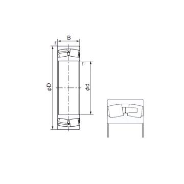 23276E NACHI Cylindrical Roller Bearings #1 image