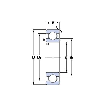 16052 SKF Deep Groove Ball Bearings #1 image