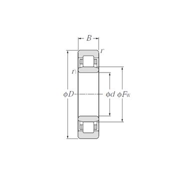 NU1015 NTN Cylindrical Roller Bearings #1 image